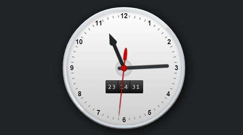 CSS3 Working Clock