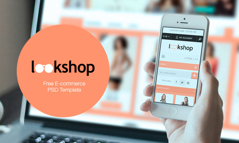 Lookshop: e-commerce responsive design template