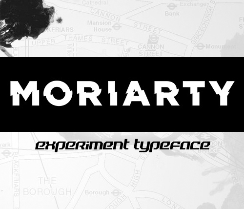 Moriarty free font