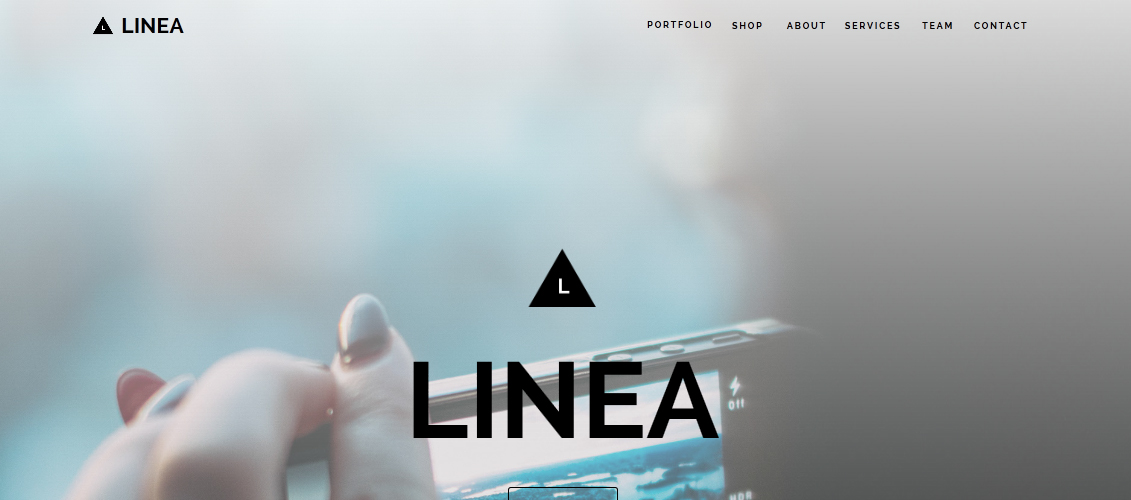 Linea - One Page Muse Template