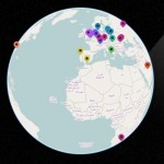 Real-time Visitor Globe with Node.js and WebGL
