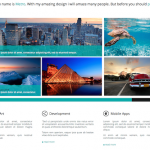 6 stunning HTML5, CSS3 and responsive website templates