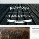 Best Free WordPress Themes October 2014