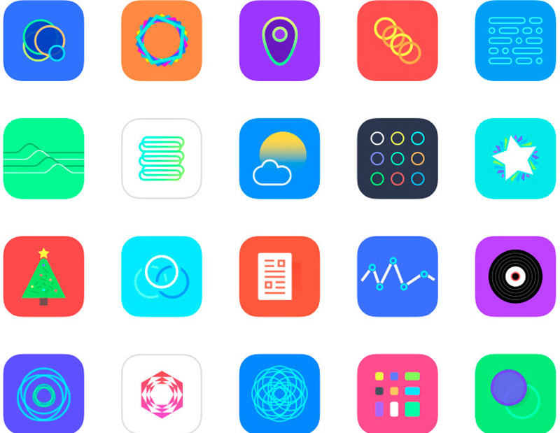 Ios 8 app icon set