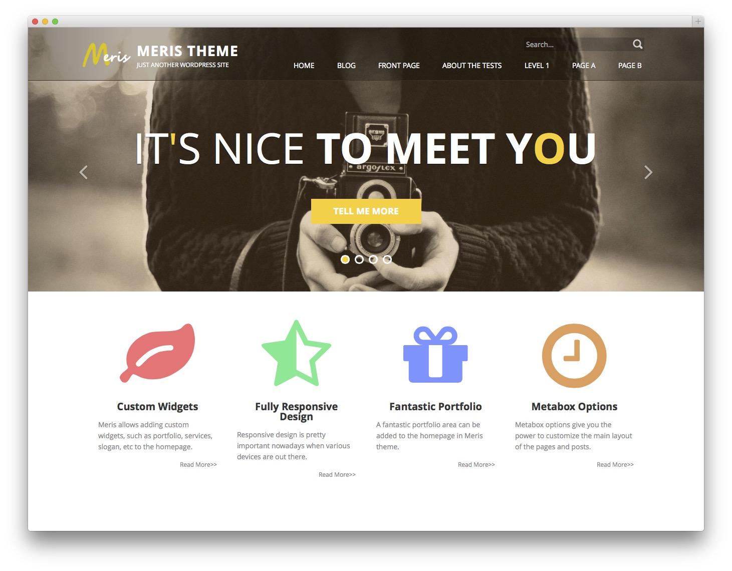 20 Best Free Bootstrap Wordpress Themes Idevie