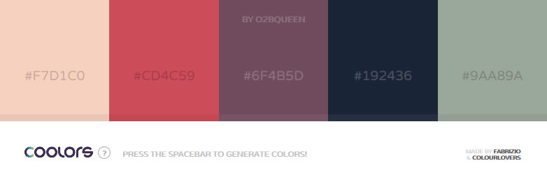 Coolors - A new super-fast color scheme generator