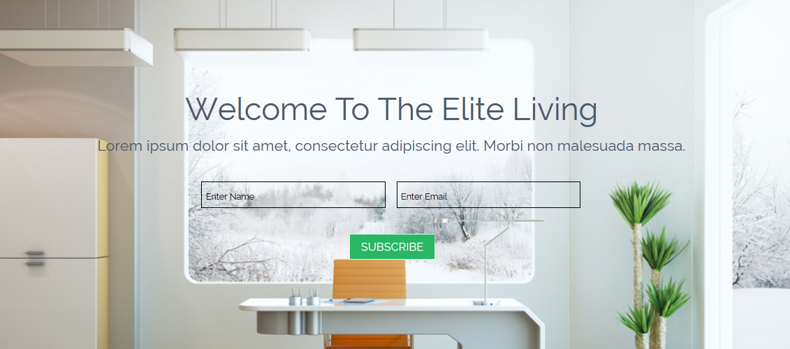 Real Estate Parallax Muse Template