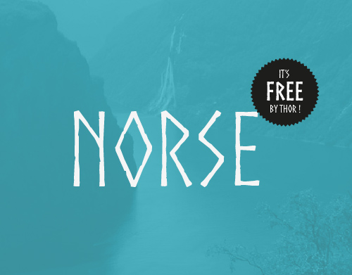 Norse Free Font