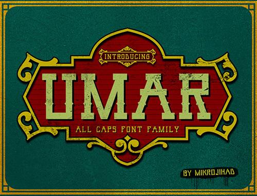 Umar Free Font