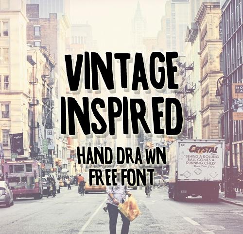 Vintage-Inspired Free Font
