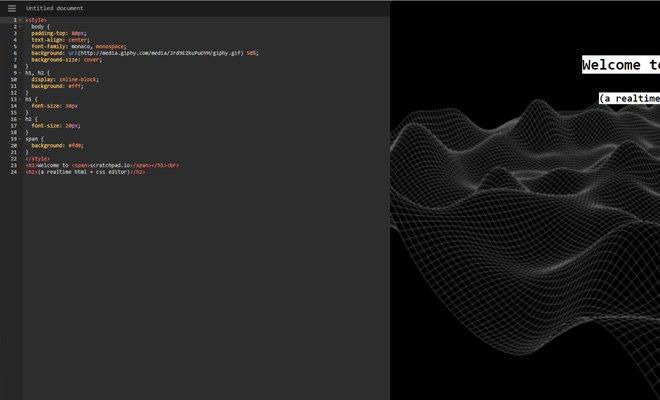 scratchpad ide cloud editor webapp