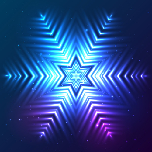 How to create abstract cosmic snowflake in Adobe Illustrator