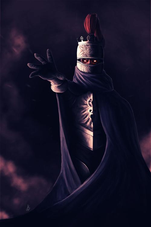 Lord Soth - Dragonlance by Unam-et-solum