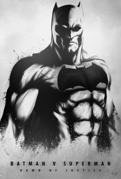 DAWN OF JUSTICE - BATMAN by Niyoarts