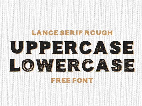 Lance Free Font