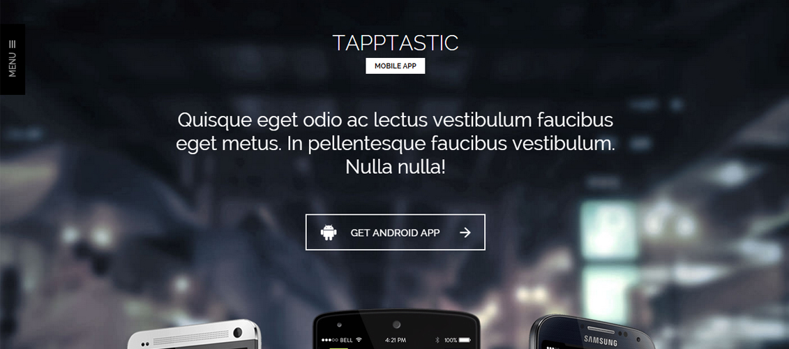 Tapptastic - App WordPress Theme