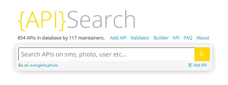 APIs.io, an experimental API search service