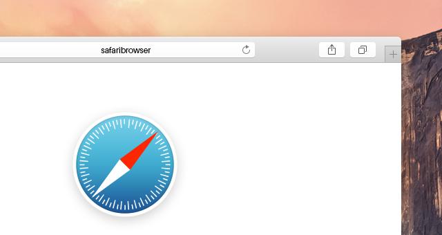 Psd Safari Yosemite Browser Mockup