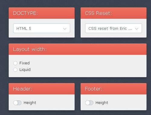 20 Online CSS3 Menu, Layout & Code Generators
