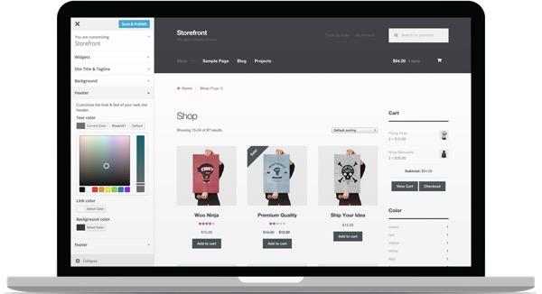 Storefront – A Brand New FREE WordPress Theme
