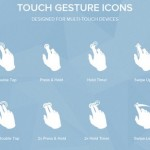 25 Free Gesture Icons Packs for Your Mobile App