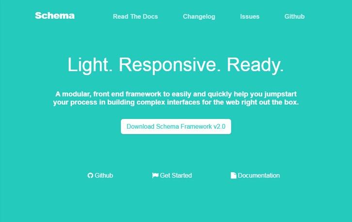 Schema – A Modular, Responsive Frontend Framework