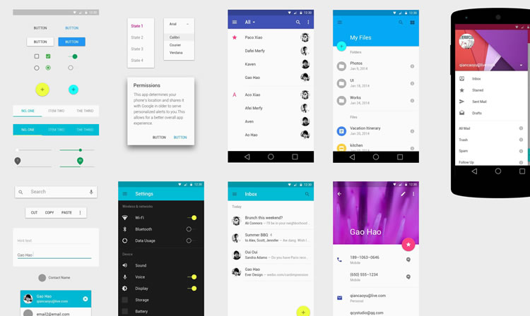gui design for android apps pdf