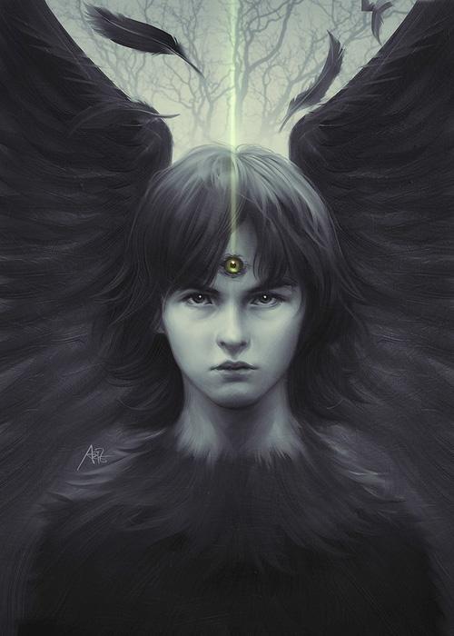 Eye of Raven by Artgerm