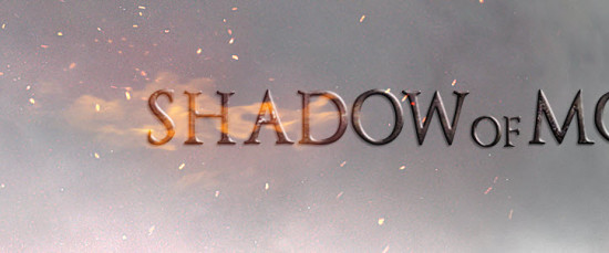 6 after scre 550x229 Create Dark Text Effect Inspired by Middle Earth: Shadow of Mordor Game in Photoshop