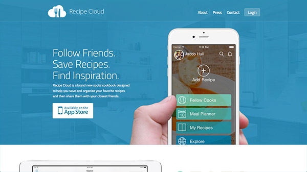 Recipe Cloud App