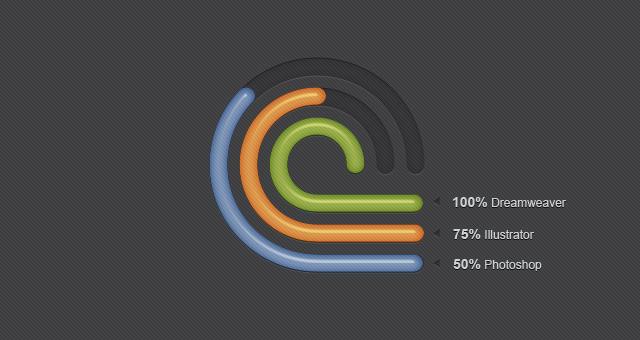 Radial Creative Diagrams PSD