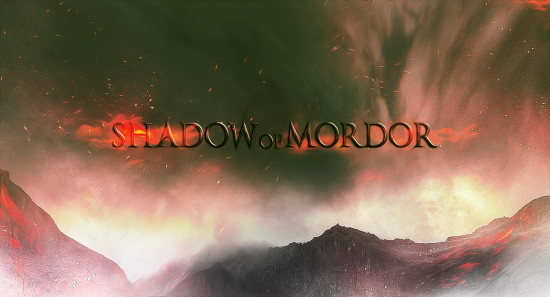 shadow of mordor flatten 550x297 Create Dark Text Effect Inspired by Middle Earth: Shadow of Mordor Game in Photoshop