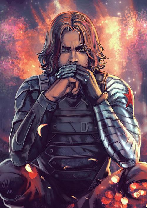 The Winter Soldier I Knew Him by Elephantwendigo