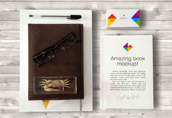 book and bisiness card