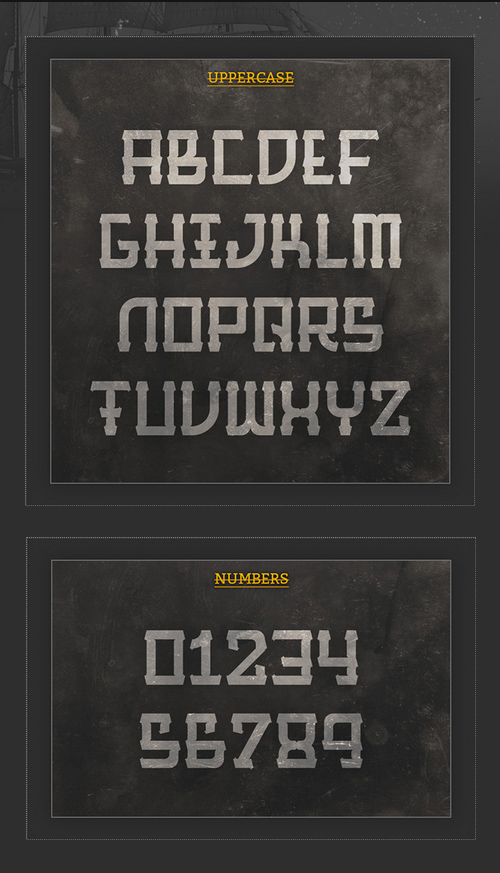 Barque Font Letters