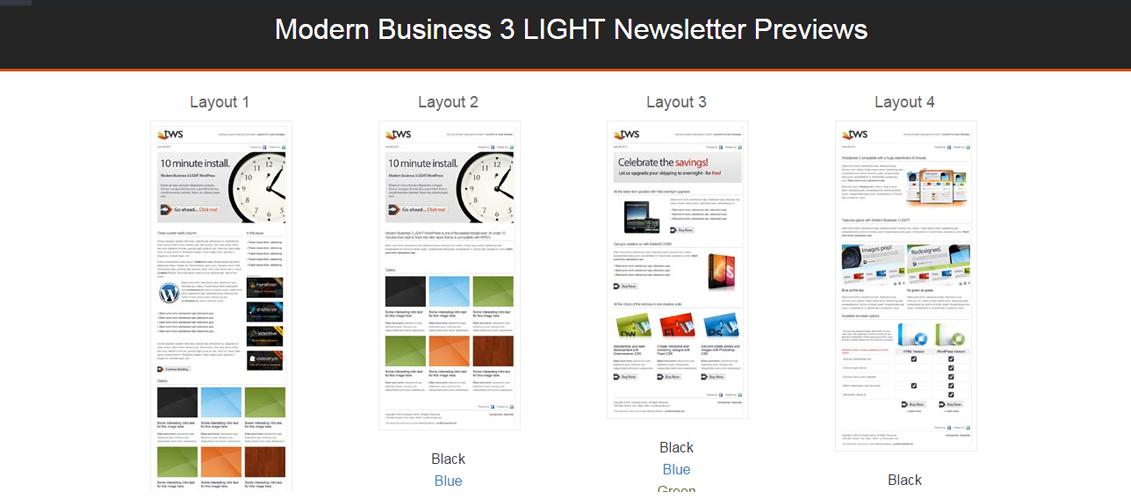 Modern Business 3 LIGHT - Email