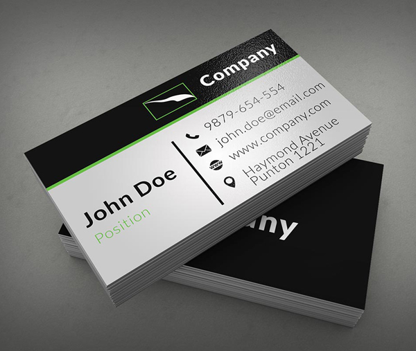 Clean Corporate Business Card Template