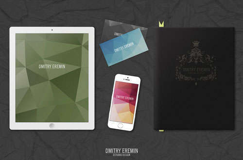 MockUp Ipad Iphone Book Businesscard