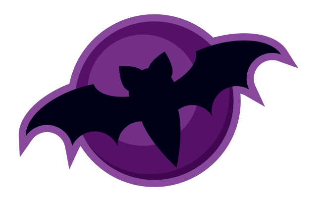 bat icon vector tutorial illustrator