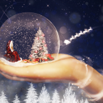 How to Create a Magical Christmas Snow Globe in Photoshop