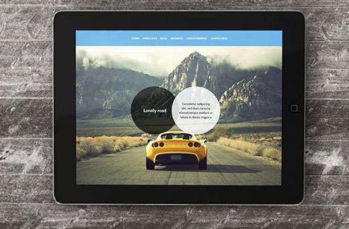 iPad Mockup v.2