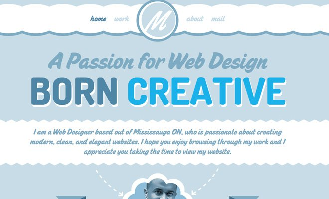 marlon messam web designer ui layout