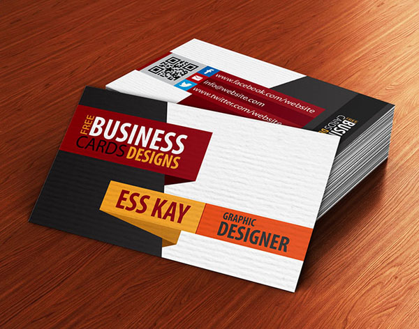 25 Free Business Cards PSD Templates