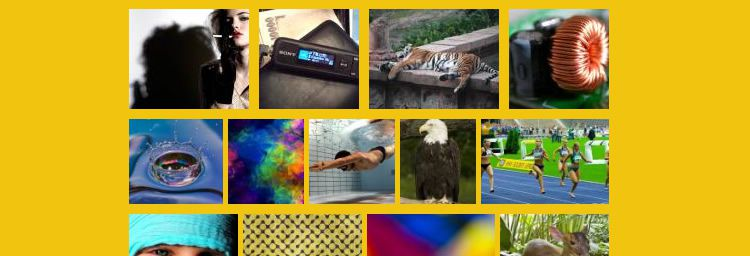 rowGrid.js images grid infinte scrolling frontend jquery plugins