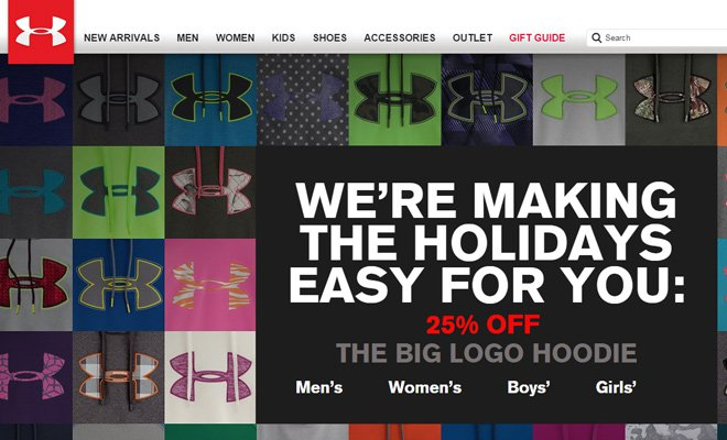 under armour website english layout