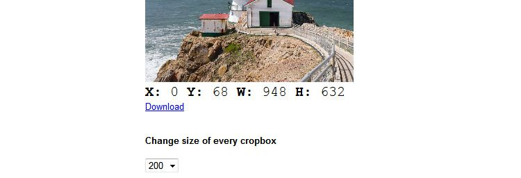 jQuery-Cropbox image cropping frontend jquery plugins