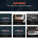 Top 10 Joomla portfolio templates for creative professionals and agencies