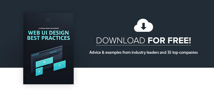 Web UI Best Practices free e-book