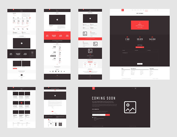 Free Download : Sage PSD Template
