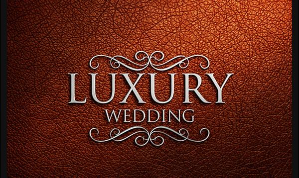 luxury logo mockup free
